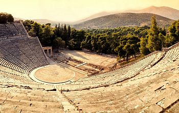 Ancient Epidaurus Little Theatre