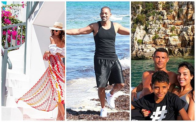 Star guests: favorite Greek resorts of the world celebrities