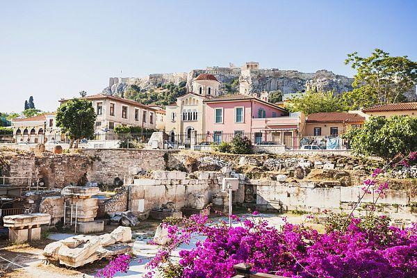 Греческая весна: Афины в марте