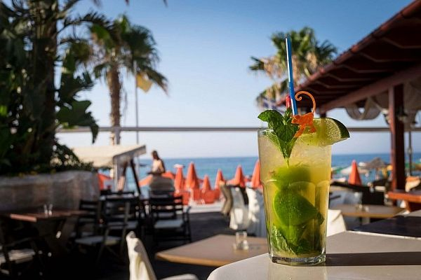Best beach bars in Chania Crete